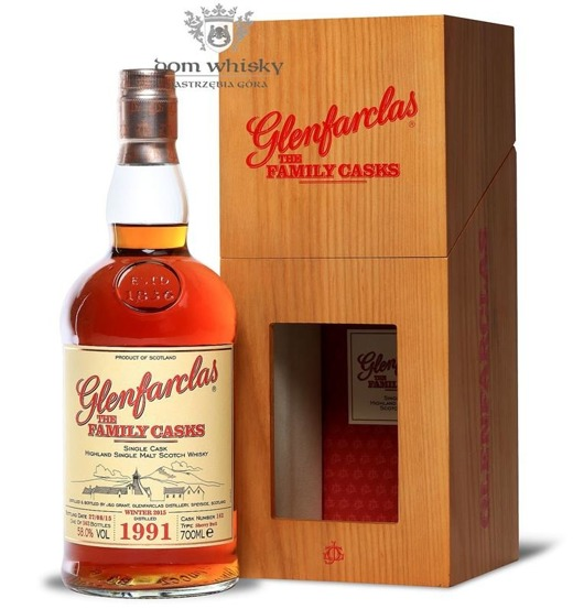 Glenfarclas The Family Casks 1991, Bottled 2015 / 58% / 0,7l