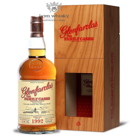 Glenfarclas The Family Casks 1992, Bottled 2014 / 50,9% / 0,7l