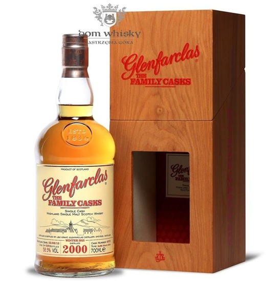 Glenfarclas The Family Casks 2000, Bottled 2015 / 58,5% / 0,7l