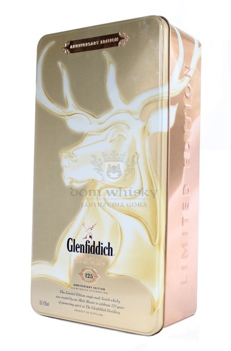 Glenfiddich 125th Anniversary Edition / 43% / 0,7l