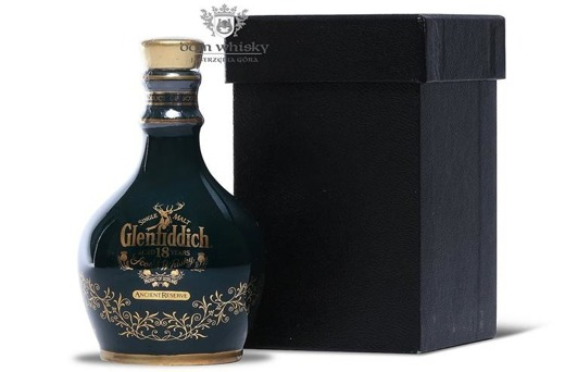 Glenfiddich 18-letni Ancient Reserve Green Decanter /43%/0,05l