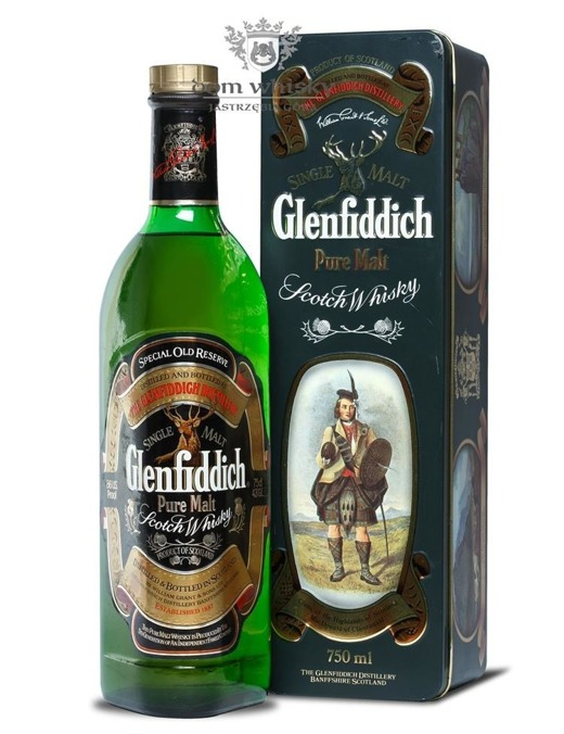 Glenfiddich Pure Malt Clan MacDonald of Claranald / 43% / 0,75l
