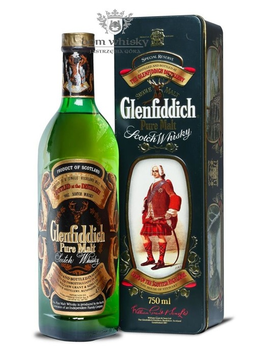 Glenfiddich Pure Malt, The House of Stewart / 43% / 0,75l