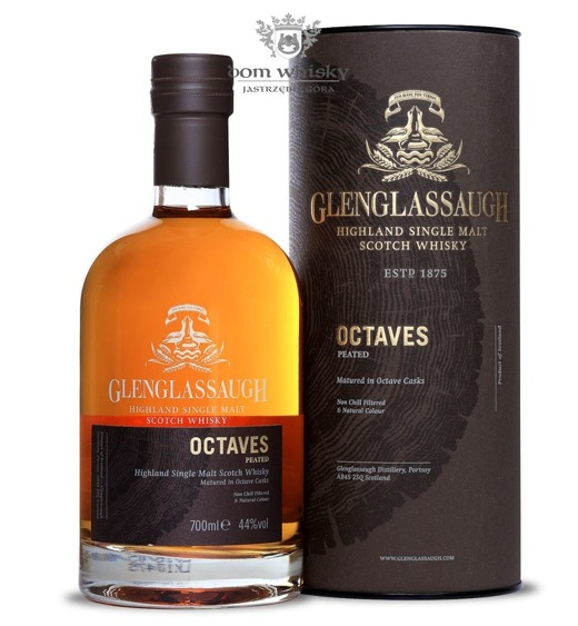 Glenglassaugh Octaves Peated / 44% / 0,7l