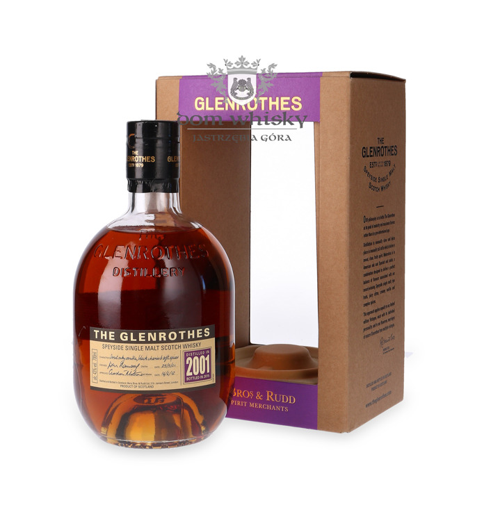 Glenrothes 2001 (Bottled 2015) / 43% / 0,7l