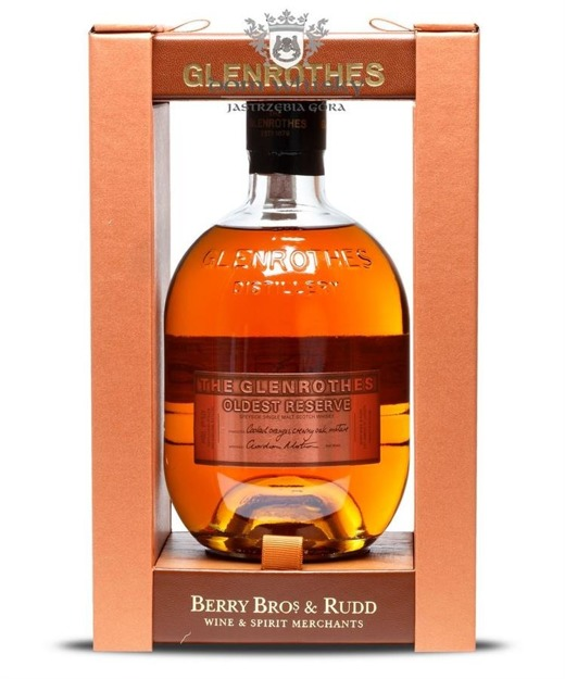 Glenrothes Oldest Reserve / 43% / 0,7l