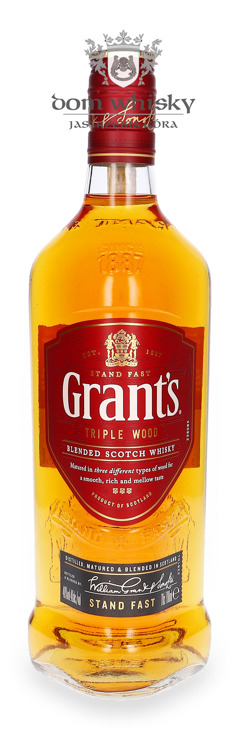 Grant's Blended Scotch Whisky / 40% / 0,7l