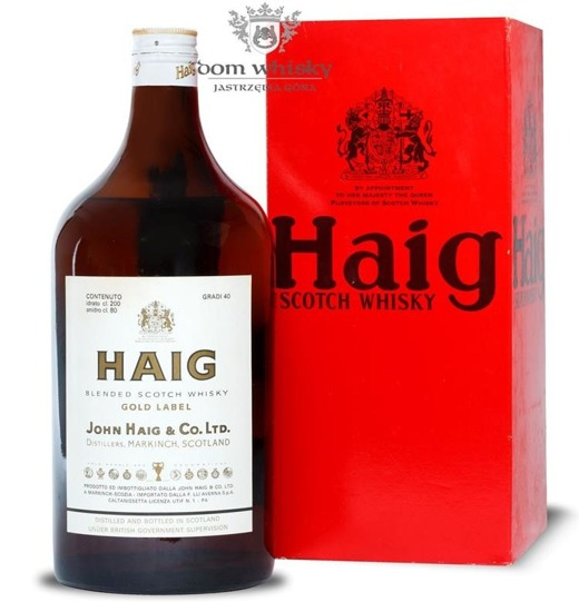 Haig Gold Label / 40% / 2,0l