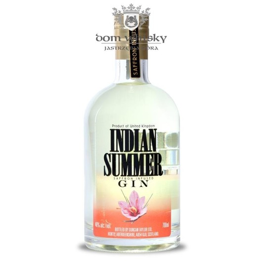 Indian Summer Saffron Infused Gin (Duncan Taylor) / 46% / 0,7l