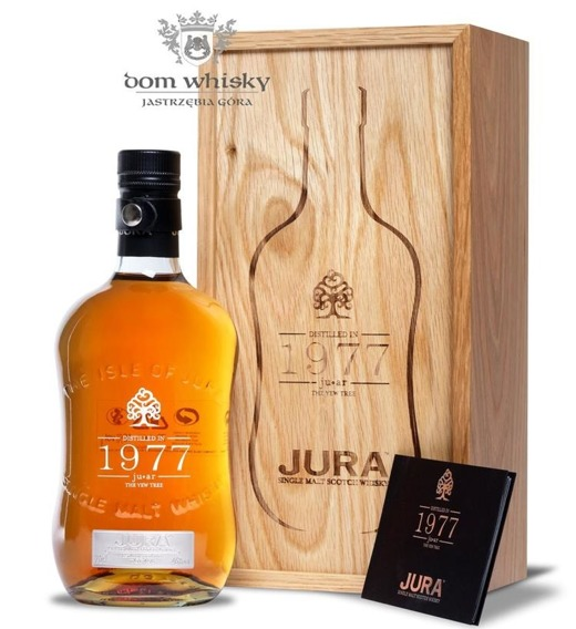 Isle of Jura 1977, Juar  (The Yew Tree) / 46% / 0,7l