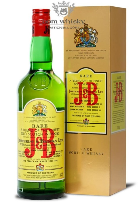J&B Blended Scotch Whisky 1970's / 40% / 0,75l