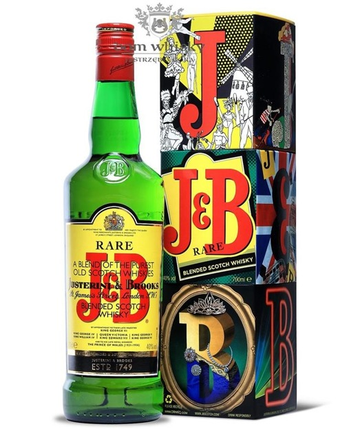 J&B 'Cubes' Blended Scotch Whisky / 40% / 0,7l