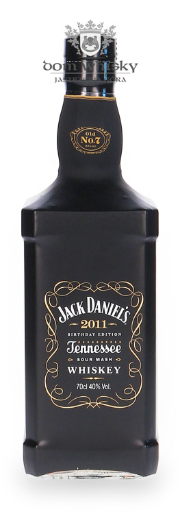 Jack Daniel's 2011 Birthday Edition /40%/ 0,7l
