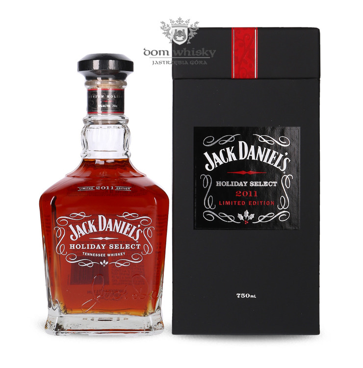 Jack Daniel's Holiday Select 2011 Limited Edition / 50% / 0,75l