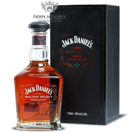 Jack Daniel's Holiday Select 2013 Limited Edition / 49% / 0,75l