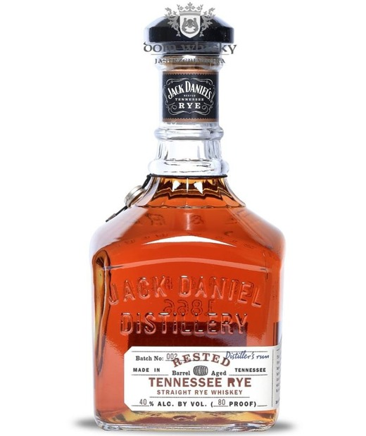 Jack Daniel's Rested Tennessee Rye Batch 002 / 40% / 0,75l