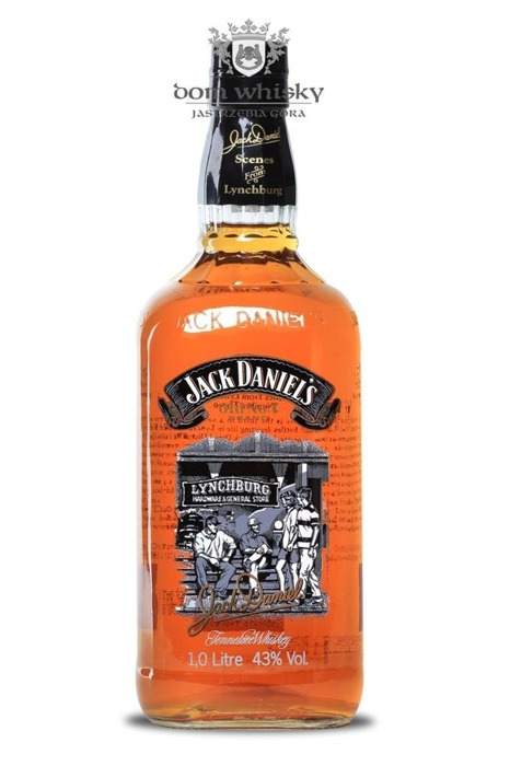 Jack Daniel's Scenes No.3 the Hardware store / 43% / 1,0l