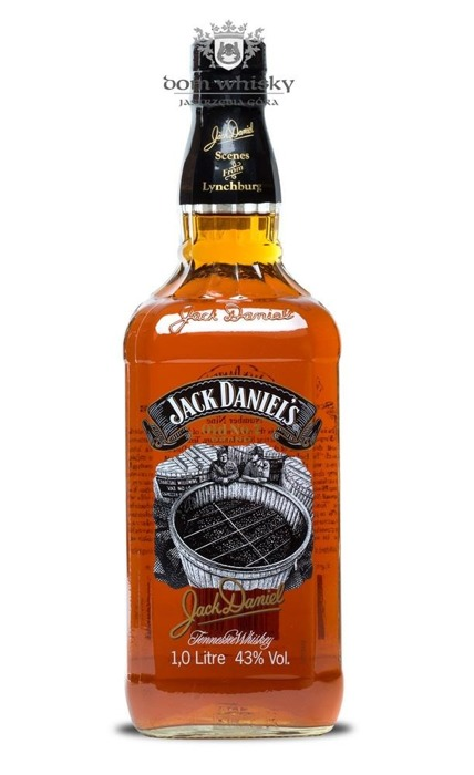 Jack Daniel's Scenes from Lynchburg No. 9 (The Charcoal Mellowing) / 43%/ 1,0l