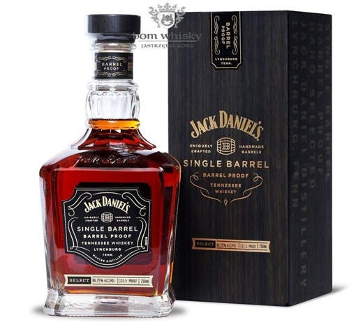 Jack Daniel's Single Barrel, Barrel Proof / 66,75%/0,75l