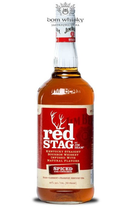 Jim Beam Red Stag Cinnamon / 40% / 1,0l
