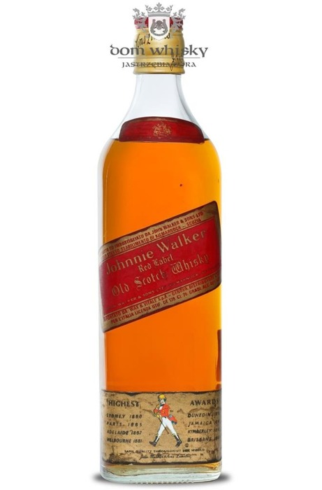 Johnnie Walker Red Label 1970's / 40% / 0,75l