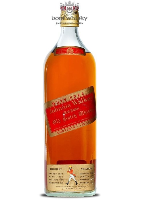Johnnie Walker Red Label Duty Free / 1,125l