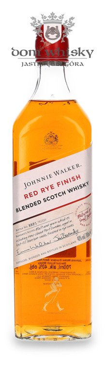 Johnnie Walker Red Rye Finish Matured in Small Batches / 40% / 0,7l