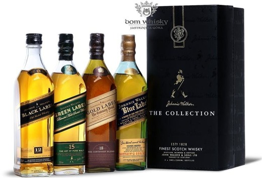 Johnnie Walker The Collection / 4 x 0,2l