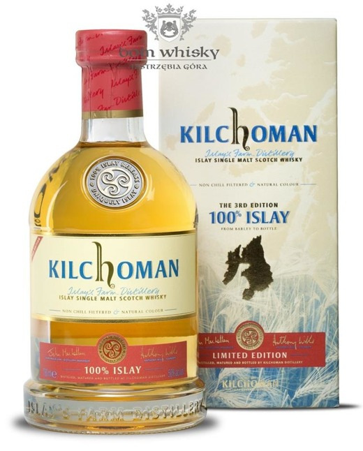Kilchoman 100% Islay, the 3rd Edition /50%/0,7l