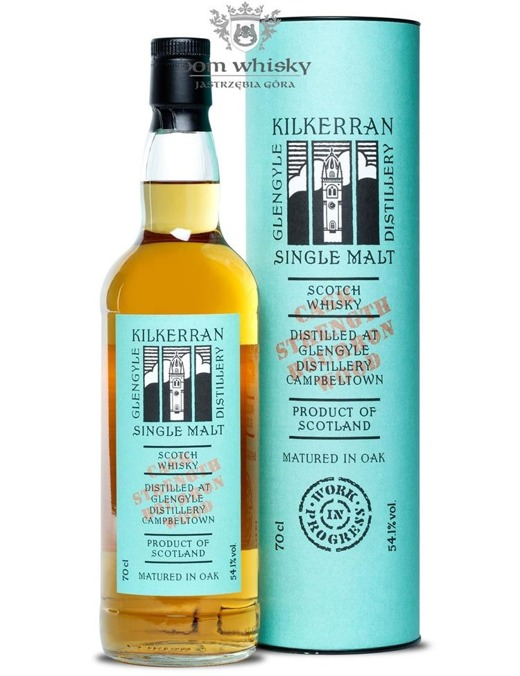 Kilkerran Work in Progress 7 (Bourbon Wood) /54,1%/0,7l