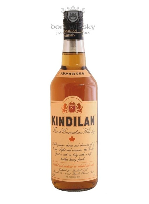 Kindilan Finest Canadian Whisky / 40% / 0,7l