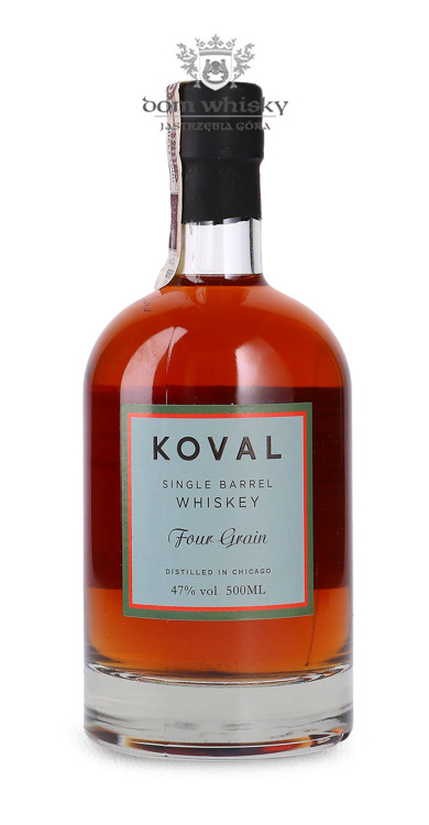 Koval Single Barrel Whiskey Four Grain / 47% / 0,5l