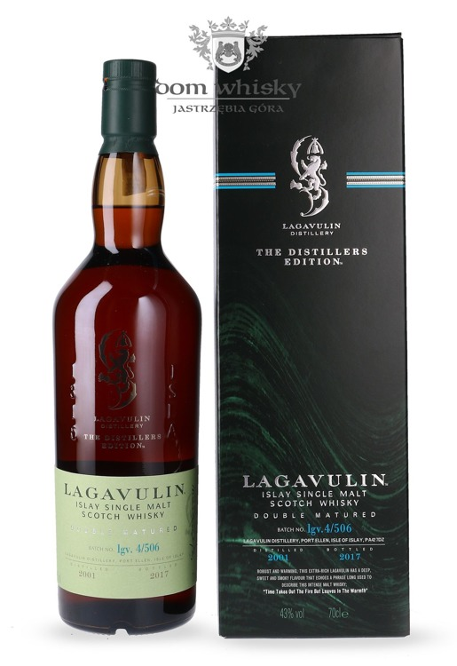 Lagavulin 2001 Distillers Edition (Bottled 2017) /43%/ 0,7l