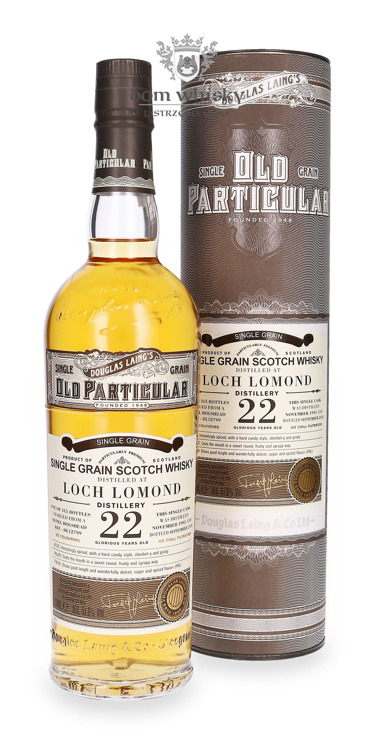 Loch Lomond Single Grain 22-letni (D.1995, B.2018) Douglas Laing's Old Particular /51,5%/ 0,7l