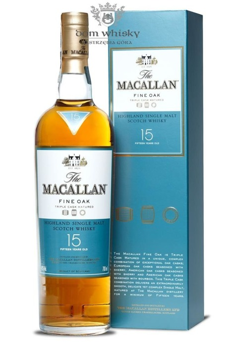 Macallan 15-letni Fine Oak (Triple Cask Matured) /43%/0,7l