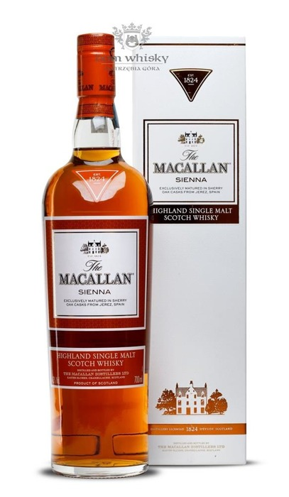 Macallan Sienna (1824 Series) /43%/0,7l