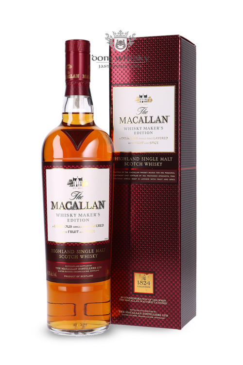 Macallan Whisky Maker's Edition (1824 Collection) / 42,8% / 0,7l