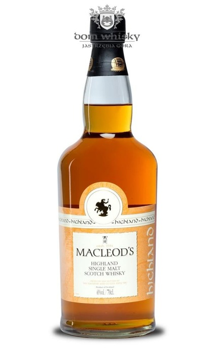 Macleod's Highlands Single Malt / 40% / 0,7l