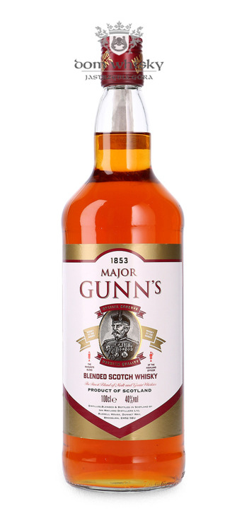 Major Gunn's Special Reserve Blended Whisky / 40% / 1,0l