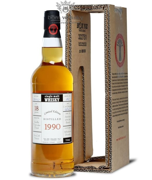 Milford 1990, 18-letni Single Barrel / 58,4%/ 0,75l