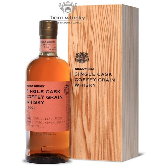 Nikka 1997 Single Cask Coffey Grain / 58% / 0,7l