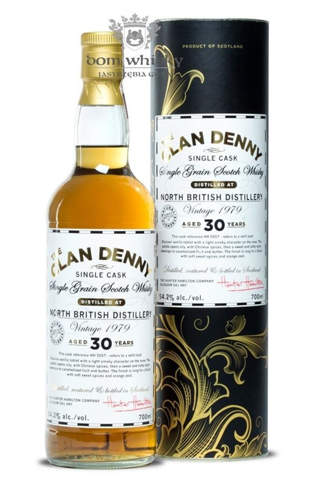 North British 1979 Vintage, 30-letni The Clan Denny / 54,2% / 0,7l