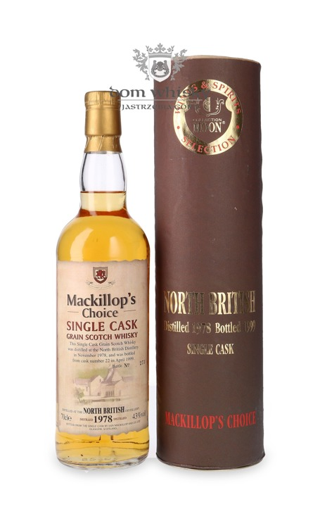 North British Grain 1978 (B.1999) Mackillop's Choice / 43% / 0,7l