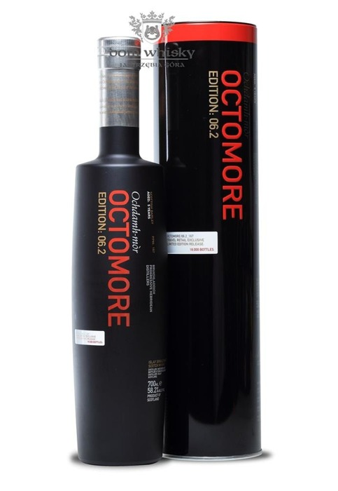 Octomore 5-letni,Scottish Barley,Edition: 06.2(167 ppm)58,2%/0,7