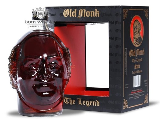 Old Monk Rum The Legend / 42,8% / 1,0l