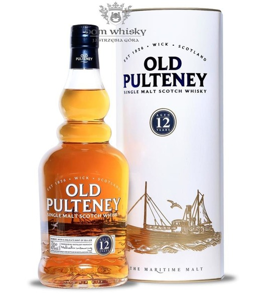 Old Pulteney 12-letni Old Label / 40% / 0,7l