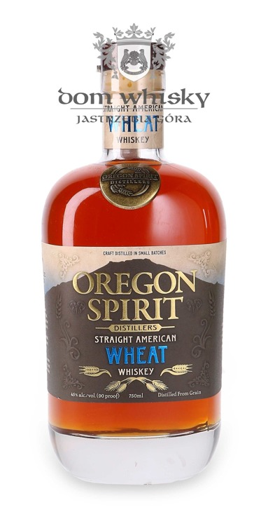 Oregon Spirit Straight American Wheat Whiskey /45%/ 0,75l