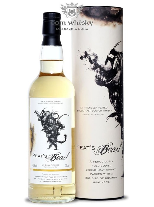 Peat's Beast Single Malt / 46% / 0,7l