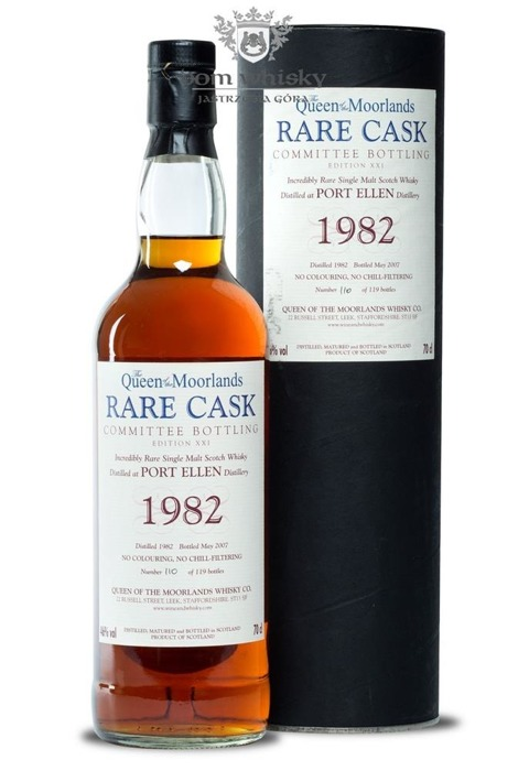 Port Ellen 25-letni (D.1982, B.2007) The Queen of the Moorlands / 46%/ 0,7l