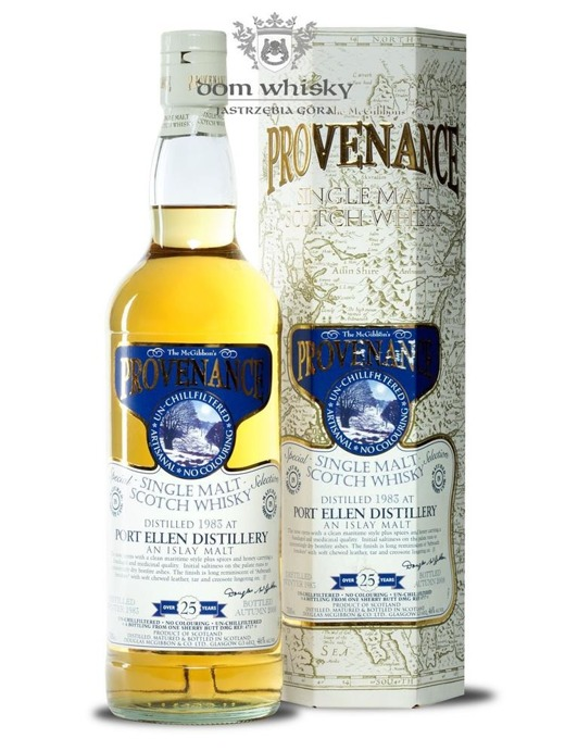 Port Ellen 25-letni (D.1983, B.2008) Provenance / 46%/ 0,7l